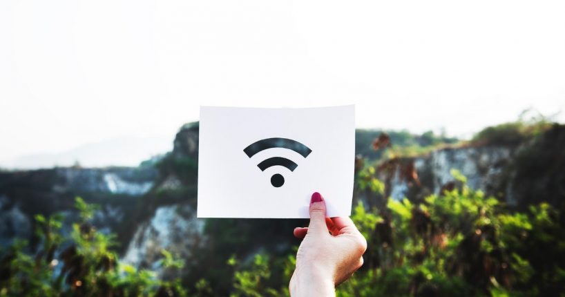 Mobile Hotspots provide Wi-Fi signal